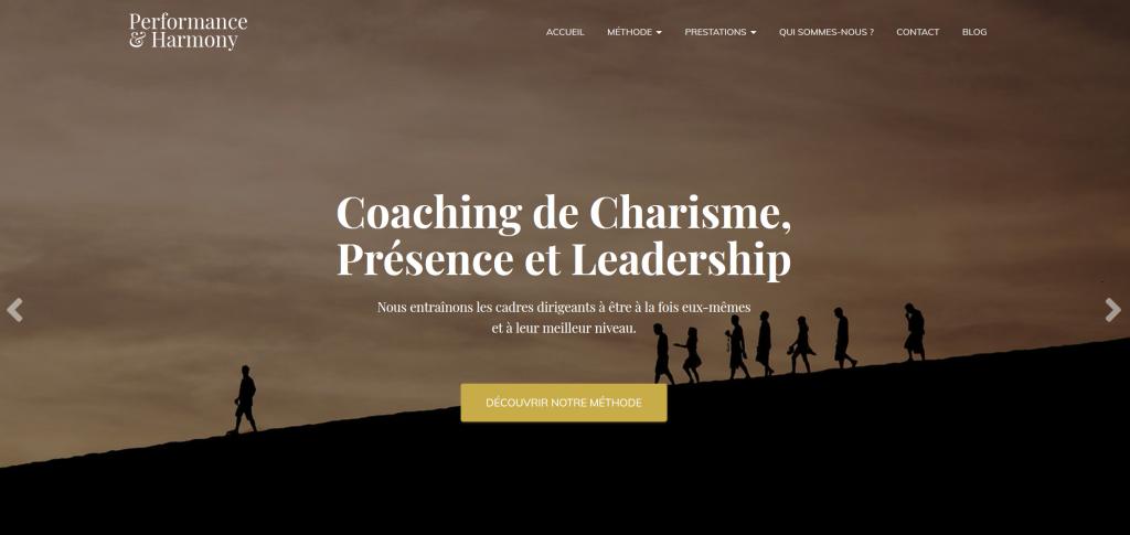 Performance & Harmony - Coaching de dirigeants